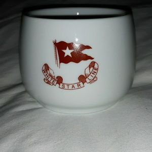 RMS Titanic Coffee Mug Tea Cup White Star Line